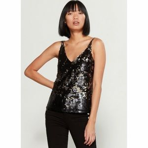 J Brand Lucy Sequins Cami.